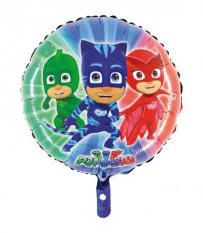 Folienballon Pyjamahelden rund